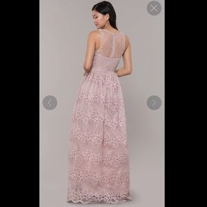 simply dresses Dresses - Mauve lace dress